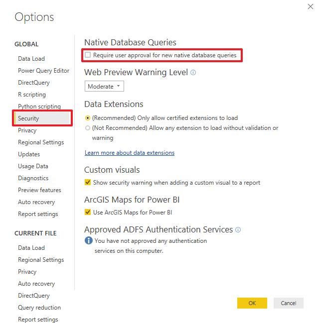 Power BI assistant troubleshooting